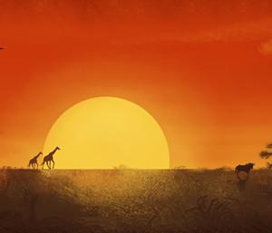 Bühnenbild Afrika & Orient