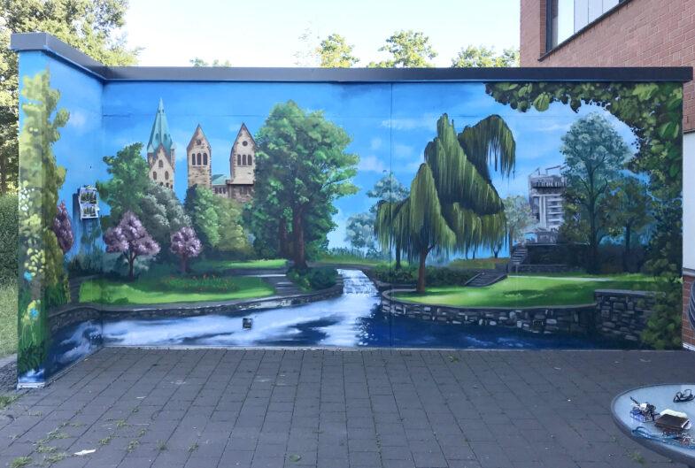 Wandbilder vom Paderquellgebiet